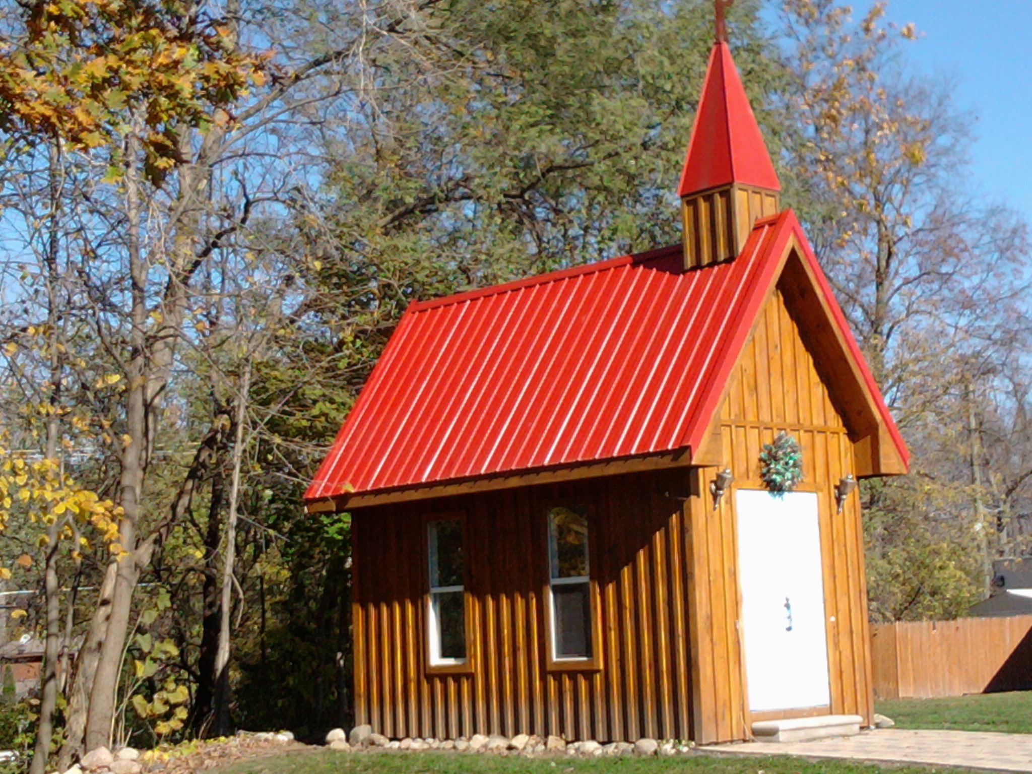 Going to the chapel in hell roundabout forty wedding chapel junglespirit Images
