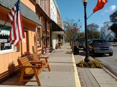 Downtown Stockbridge, Michigan
