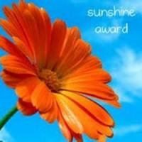 Gimpy Longstocking gets a Sunshine Award