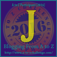 J is for Justification  #atozchallenge