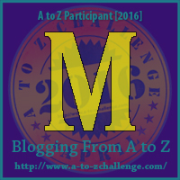 M is for Magic Wand  #atozchallenge