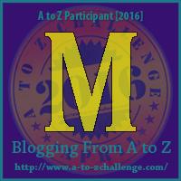 M is for Magic Wand  #atozchallenge