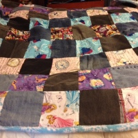 "Hubby was quilting again. This time, he made a ""Pr…"